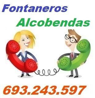 Telefono de la empresa fontaneros Alcobendas